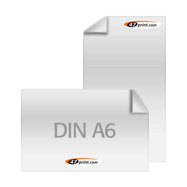 DIN A6 (105 x 148 mm) / Lieferzeit: 4 - 6 Werktage