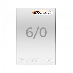 Briefpapier DIN A4, 6/0-farbig, CMYK + 2 Sonderfarben HKS oder Pantone