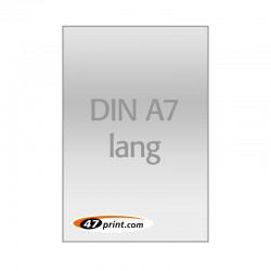 Flyer DIN A7 lang