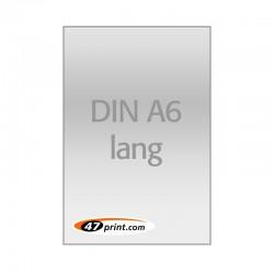 Flyer DIN A6 lang