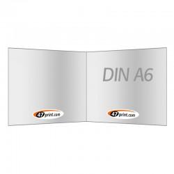 Flyer gefalzt auf DIN A6 quer, 4-seiter