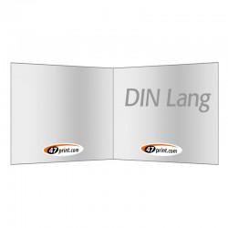Flyer gefalzt auf DIN Lang quer, 4-seiter