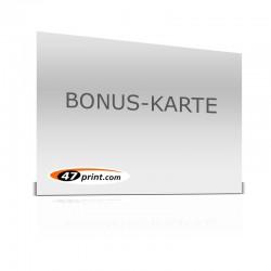 Bonuskarten quer