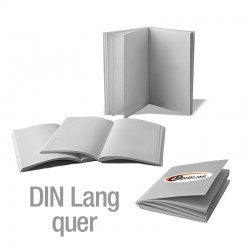 Broschüren DIN Lang quer (4/4-farbig)