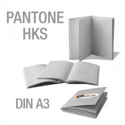 Broschüren DIN A3 (Sonderfarben)