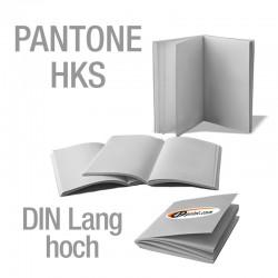Broschüren DIN Lang hoch (Sonderfarben)