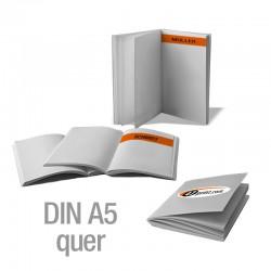 Broschüren DIN A5 quer personalisiert (4/4-farbig)