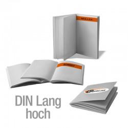 Broschüren DIN Lang hoch personalisiert (4/4-farbig)