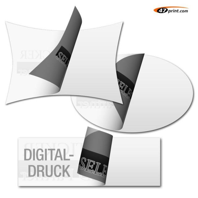 Hinterglasaufkleber drucken im Digitaldruck