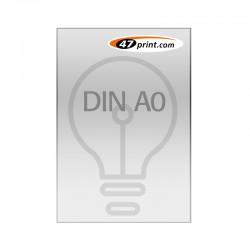 Plakat DIN A0, selbstklebende Backlit-Folie laminiert