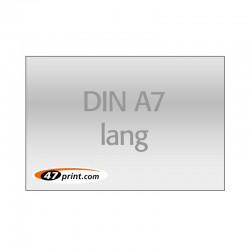 Flyer DIN A7 lang, quer
