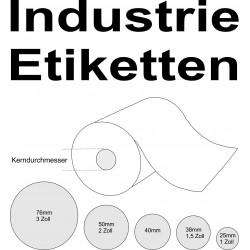 Etikettenrechner - individuelle Industrie Etiketten auf Rolle